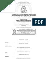 Lineamientos y criterios de diseño arquitectónico para vivienda rural en el área norte del municipio de San Juan Opico