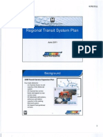 WMATA June 2011 Long-Term Transportation Plan Briefing