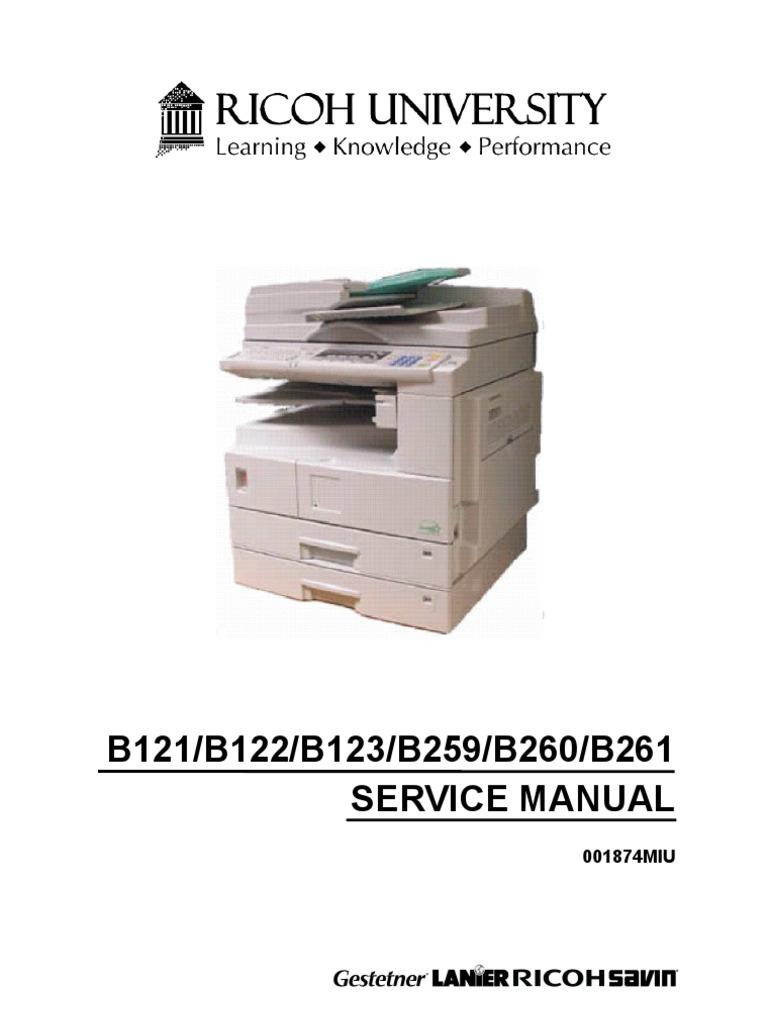 Ricoh Aficio 2045e User Manual Garage Door Opener Circuit Design Tom39s Maker Site Array 3035 Service Pdf Rh E10 File Ru Net