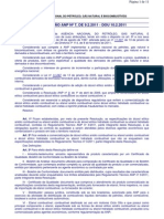 Resolução ANP nº 7, 2011 - AEHC e AEAC