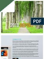 Schawk 2010 Sustainability Report