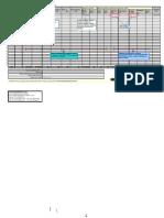 Planilha de Centro de Custo 2010 Completa