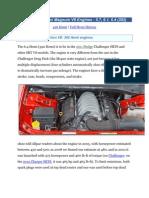 The Mopar Hemi Magnum V8 Engines