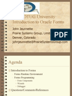 Introduction to Oracle Forms