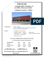 1229 E. Colorado Blvd, Pasadena | for Lease