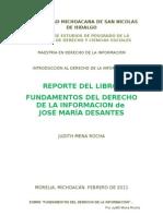 FUNDAMENTOS DEL DERECHO DE LA INFORMACIÓN