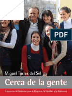 Cerca De La Gente - Propuestas de Gobierno para el Progreso, la Equidad y la Esperanza