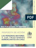 Plan Nacional de Demencia en Adultos Mayores 19999