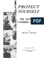 Protect Yourself, The Secrets of Unarmed Defence - Brook Mendell 1944