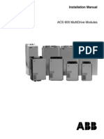ACS 600 Installation Manual