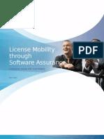 License Mobility Through Software Assurance Customer Program Guide