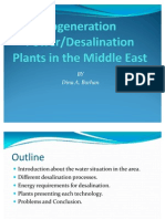 on Power and Desalination