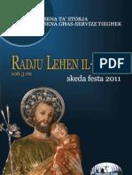 Radju Lehen il-Qala - Skeda Festa 2011