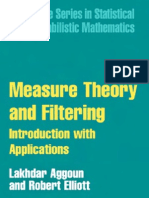 Filtering and Measure Theory