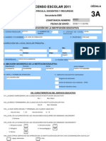 Censo Escolar Matricula Docentes y Recursos