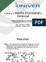 Ética y Filosofía Empresarial y Gerencial 2 Sesion