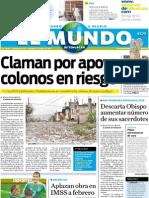 Portada El Mundo de Tehuacán 1 de julio de 2011