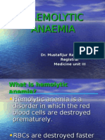 Haemolytic Anaemia.final