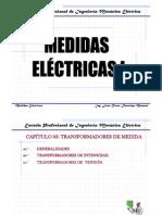 Cap III Medidas Eléctricas Trafos