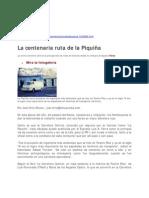 ENDI La Centenaria ruta de La Piquiña