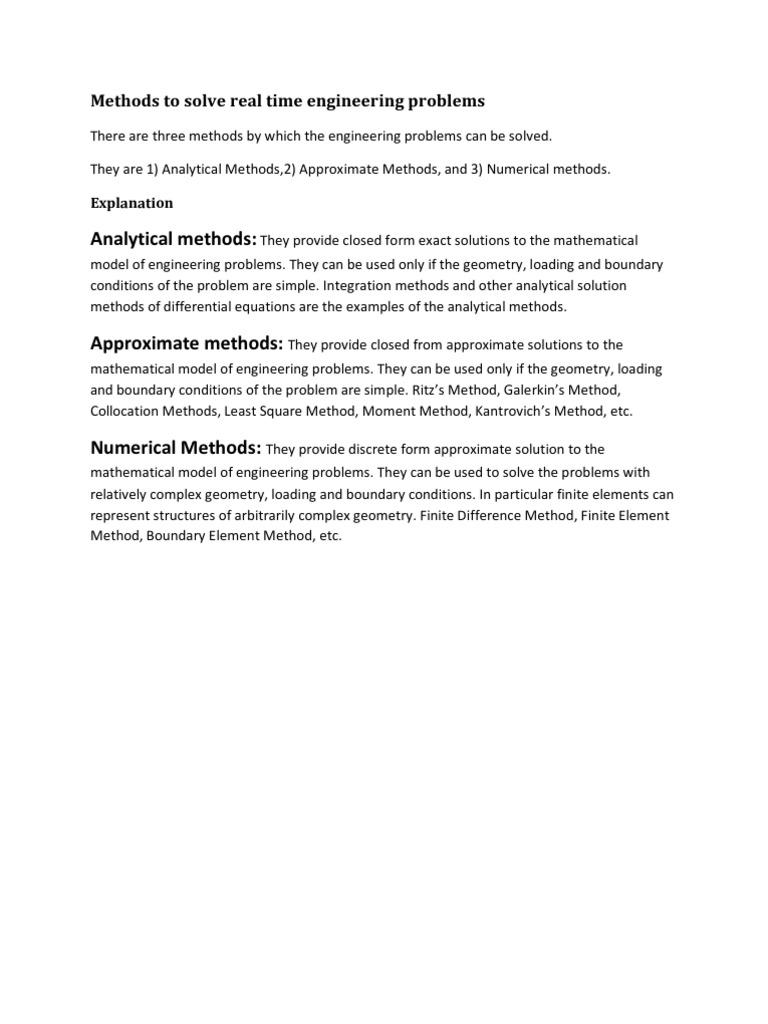 FEA Complete   Finite Element Method   Numerical Analysis