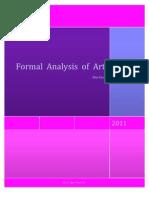 Formal Analysis of Art