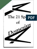The 21 Spells of Domesius