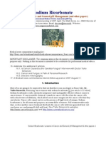 Sodium Bicarbonate PDF