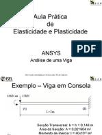 ANSYS - PLASTICIDADE ELASTICIDADE 46pgs