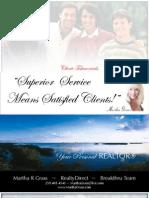 Client Testimony Presentation Martha R Grass 2012 REALTOR®