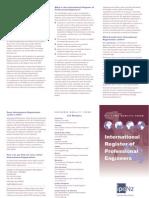 New Zealand EMF IntPE Brochure Feb 2006