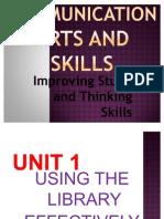 Communication Arts and Skills