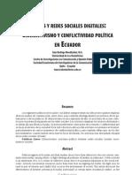 Medios y redes sociales digitales