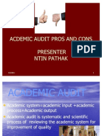 Academic Audit Pros and Cons2