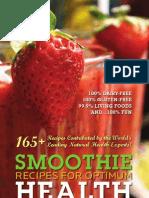 Smoothies for Optimum Health