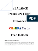 New Free E-Book the Balance Procedure and the Enha[1]