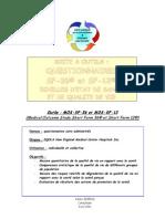 EchellesDeQualitéDeVieSF12etSF36