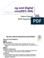 Analog and Digital Electronics(EEC-309)