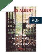 Wass Albert - Elvesz a Nyom 0734d5704c