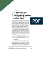 MAURO, G A dialética das lutas socialistas