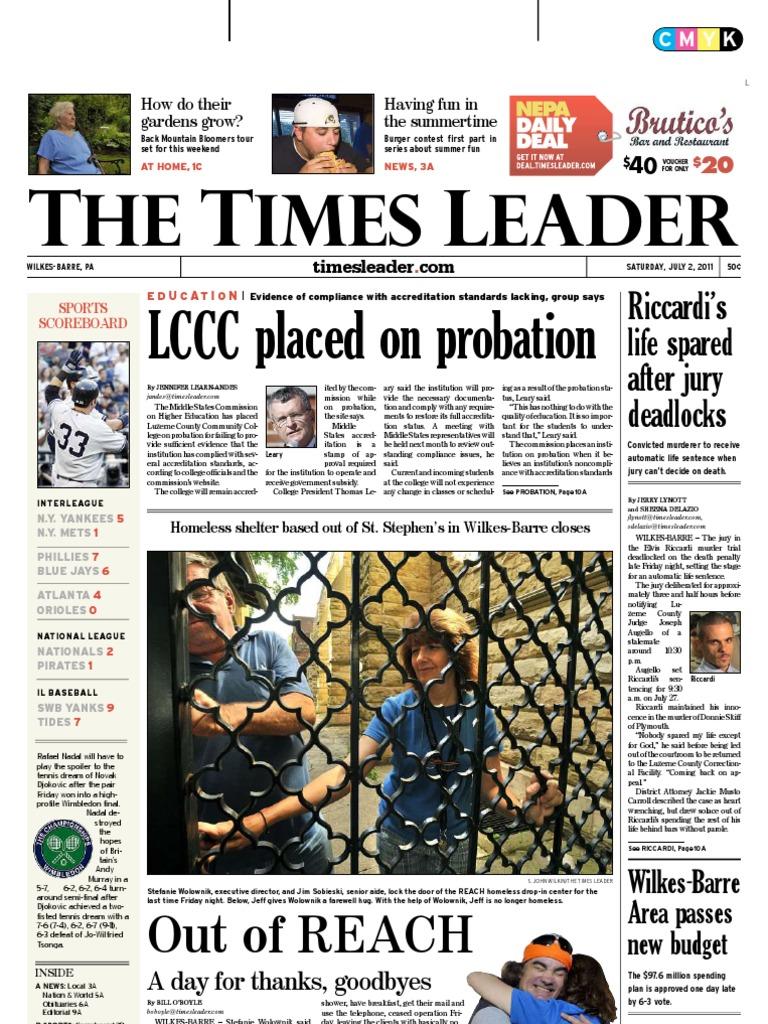9bc75f0f08c2 Times Leader 07-02-2011 | Internship | Wilkes Barre