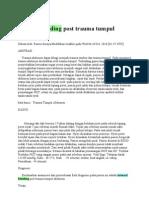 Internal Bleeding Post Trauma Tumpul Abdomen