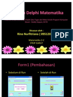 Program Matematika