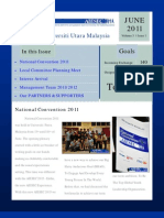 AIESEC UUM Newsletter June 2011