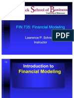 FIN 735 Introduction