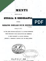 Elementi Della Storia e Geografia Del Regno Delle Due Sicilie - 1828