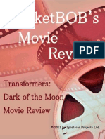 Transformers 3 Dark of the Moon MarketBOB Movie Review