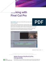 Working With Final Cut Pro and Adobe Premiere Pro