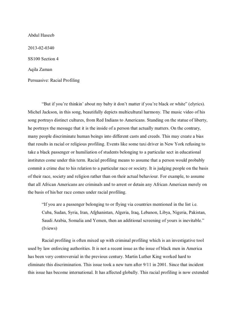 English Essay Internet  Business Essay Writing also Health Essay Writing Essays On Racial Profiling Sample Proposal Essay