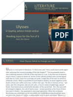 Reading Ulysses for the Fun of It